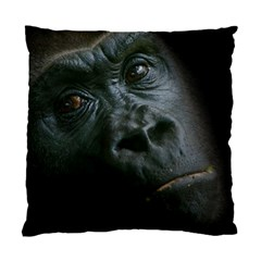 Gorilla Monkey Zoo Animal Standard Cushion Case (two Sides) by Nexatart