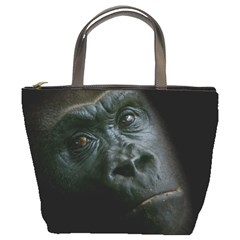 Gorilla Monkey Zoo Animal Bucket Bag by Nexatart