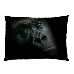 Gorilla Monkey Zoo Animal Pillow Case by Nexatart