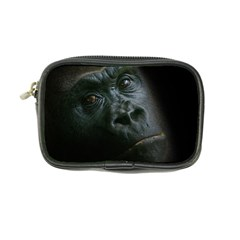 Gorilla Monkey Zoo Animal Coin Purse by Nexatart