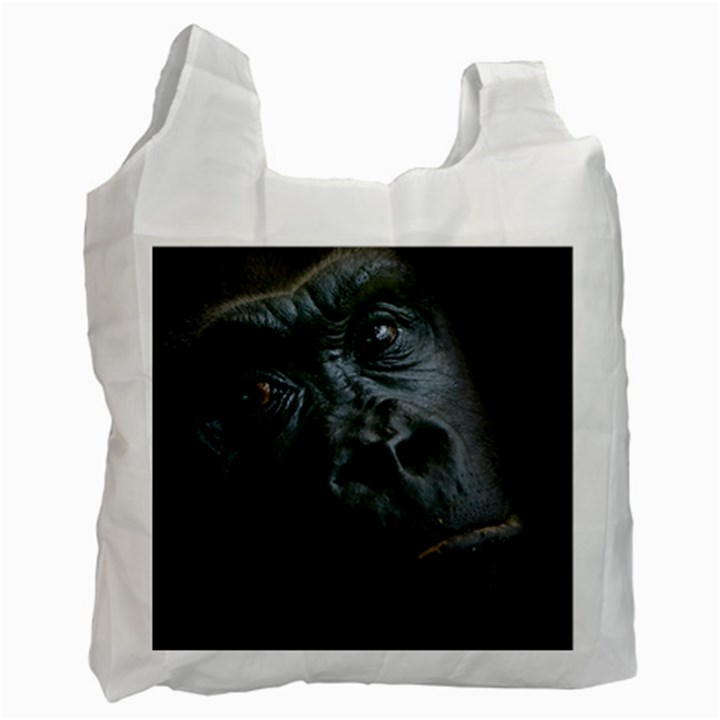 Gorilla Monkey Zoo Animal Recycle Bag (Two Side)