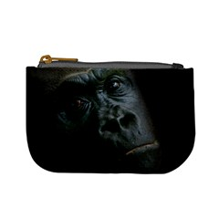 Gorilla Monkey Zoo Animal Mini Coin Purse by Nexatart
