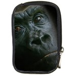 Gorilla Monkey Zoo Animal Compact Camera Leather Case Front