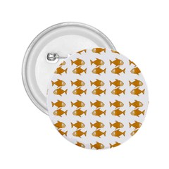Small Fish Water Orange 2 25  Buttons