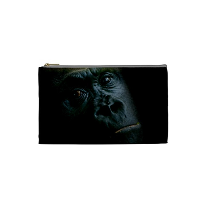 Gorilla Monkey Zoo Animal Cosmetic Bag (Small)
