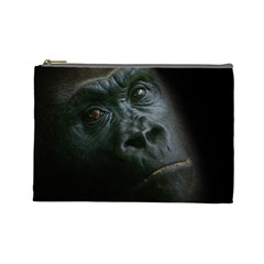 Gorilla Monkey Zoo Animal Cosmetic Bag (large)