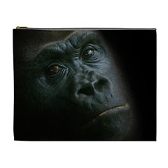 Gorilla Monkey Zoo Animal Cosmetic Bag (xl) by Nexatart
