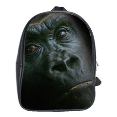 Gorilla Monkey Zoo Animal School Bag (large) by Nexatart