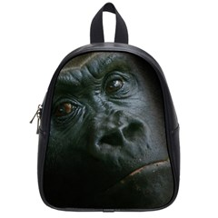 Gorilla Monkey Zoo Animal School Bag (small) by Nexatart