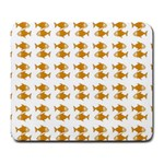Small Fish Water Orange Large Mousepads Front