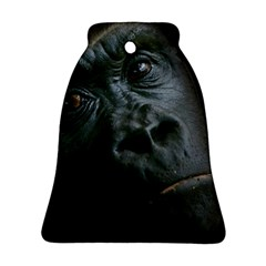 Gorilla Monkey Zoo Animal Bell Ornament (Two Sides)