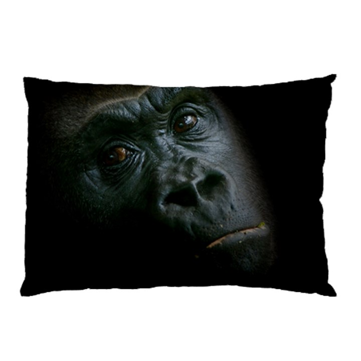 Gorilla Monkey Zoo Animal Pillow Case (Two Sides)
