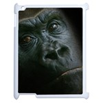 Gorilla Monkey Zoo Animal Apple iPad 2 Case (White) Front