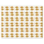 Small Fish Water Orange Rectangular Jigsaw Puzzl Front