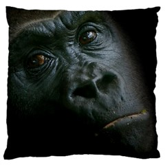Gorilla Monkey Zoo Animal Large Cushion Case (one Side) by Nexatart
