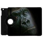 Gorilla Monkey Zoo Animal Apple iPad Mini Flip 360 Case Front