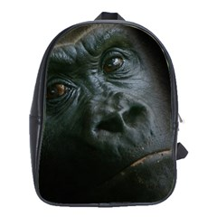 Gorilla Monkey Zoo Animal School Bag (xl) by Nexatart