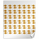 Small Fish Water Orange Canvas 8  x 10  10.02 x8  Canvas - 1