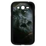 Gorilla Monkey Zoo Animal Samsung Galaxy Grand DUOS I9082 Case (Black) Front