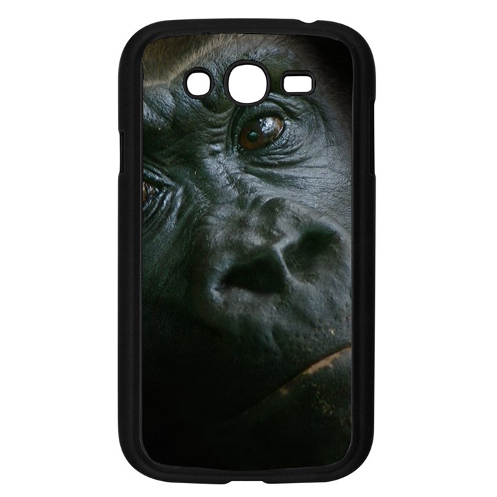 Gorilla Monkey Zoo Animal Samsung Galaxy Grand DUOS I9082 Case (Black)