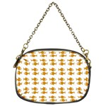 Small Fish Water Orange Chain Purse (One Side) Front