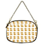 Small Fish Water Orange Chain Purse (Two Sides) Front