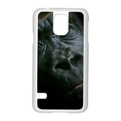 Gorilla Monkey Zoo Animal Samsung Galaxy S5 Case (white)