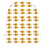 Small Fish Water Orange School Bag (Small) Front