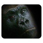 Gorilla Monkey Zoo Animal Double Sided Flano Blanket (Small)  50 x40 Blanket Front