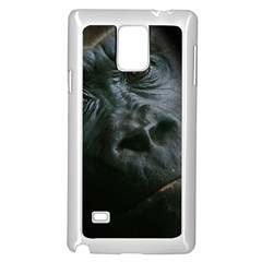 Gorilla Monkey Zoo Animal Samsung Galaxy Note 4 Case (white)