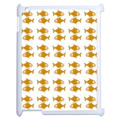 Small Fish Water Orange Apple Ipad 2 Case (white)