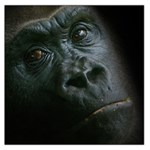 Gorilla Monkey Zoo Animal Large Satin Scarf (Square) Front