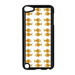 Small Fish Water Orange Apple iPod Touch 5 Case (Black) Front