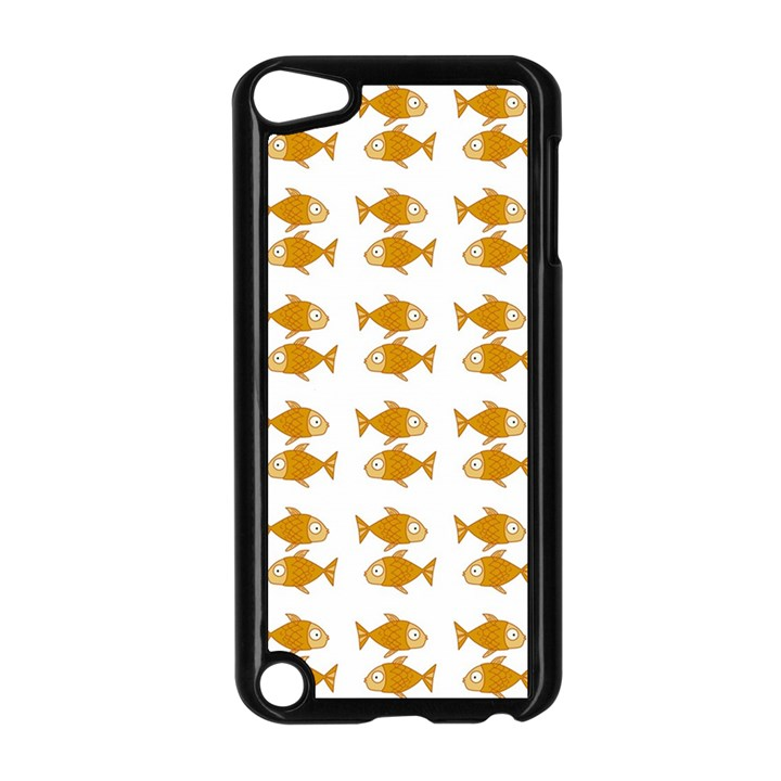 Small Fish Water Orange Apple iPod Touch 5 Case (Black)