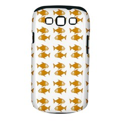 Small Fish Water Orange Samsung Galaxy S Iii Classic Hardshell Case (pc+silicone) by Alisyart