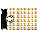 Small Fish Water Orange Apple iPad 2 Flip 360 Case Front