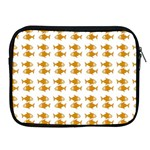 Small Fish Water Orange Apple iPad 2/3/4 Zipper Cases Front
