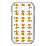 Small Fish Water Orange Samsung Galaxy Grand DUOS I9082 Case (White) Front
