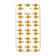 Small Fish Water Orange Samsung Galaxy S4 I9500/i9505  Hardshell Back Case by Alisyart