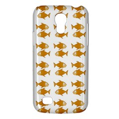 Small Fish Water Orange Samsung Galaxy S4 Mini (gt I9190) Hardshell Case  by Alisyart