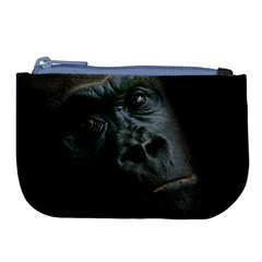 Gorilla Monkey Zoo Animal Large Coin Purse by Nexatart