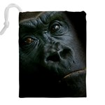 Gorilla Monkey Zoo Animal Drawstring Pouch (XXL) Back