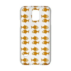 Small Fish Water Orange Samsung Galaxy S5 Hardshell Case  by Alisyart