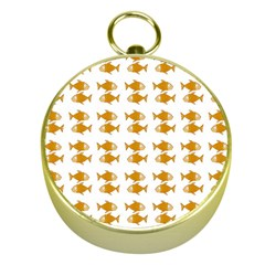 Small Fish Water Orange Gold Compasses