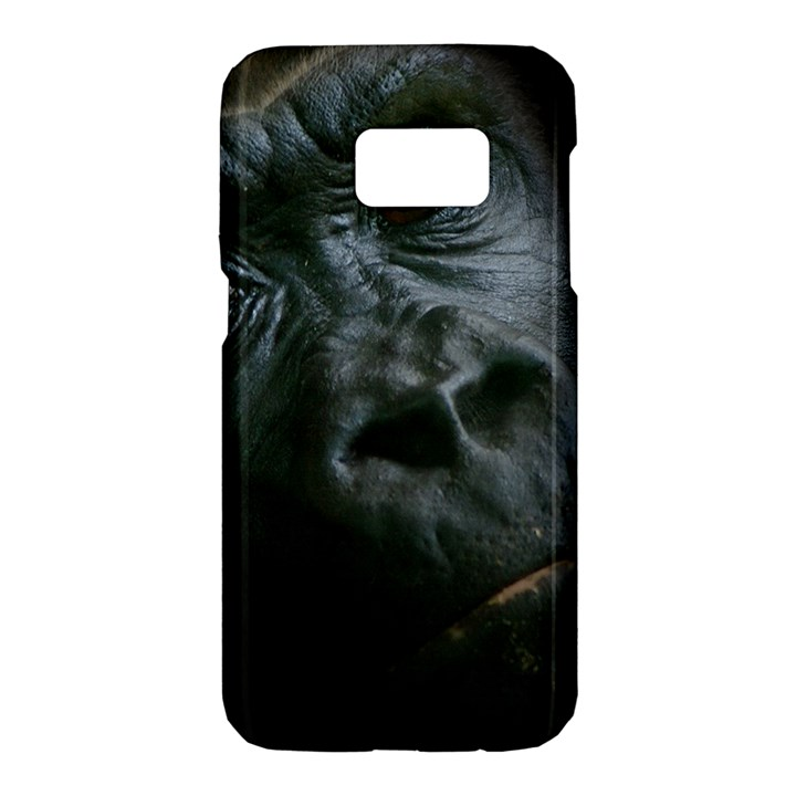 Gorilla Monkey Zoo Animal Samsung Galaxy S7 Hardshell Case