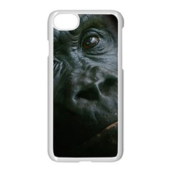 Gorilla Monkey Zoo Animal Apple Iphone 7 Seamless Case (white)