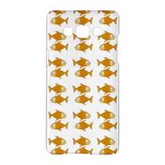 Small Fish Water Orange Samsung Galaxy A5 Hardshell Case  by Alisyart