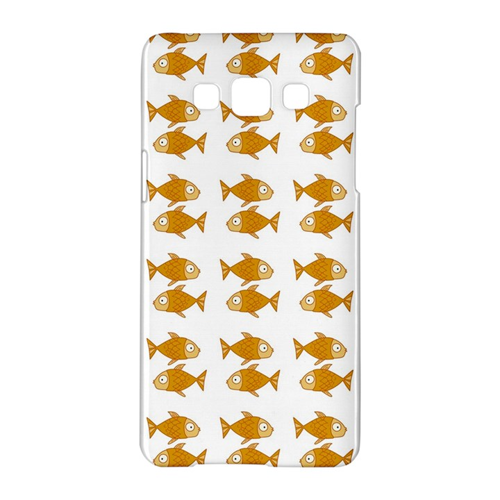 Small Fish Water Orange Samsung Galaxy A5 Hardshell Case