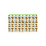Small Fish Water Orange Cosmetic Bag (XS) Front