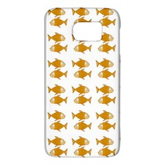 Small Fish Water Orange Samsung Galaxy S6 Hardshell Case  by Alisyart
